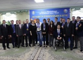 Governor of UgraKomarova Natalya met the champions and prize-winners of the Olympic Games and Paralympic Games. Khanty-Mansiysk, April 4, 2014