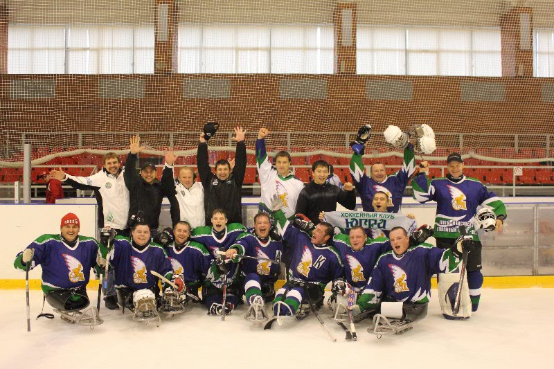 The first stage of the championship of Russia's sledge hockey season 2012-2013