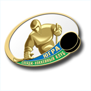 "Badge of sledge hockey club ""Ugra"" fan"